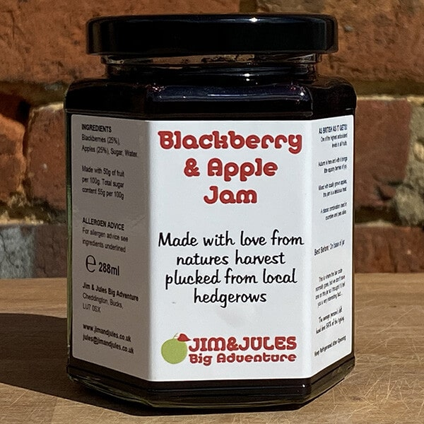 Jim And Jules Jamtastic Blackberry And Apple Jam