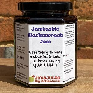 Jim And Jules Jamtastic Blackcurrant Jam