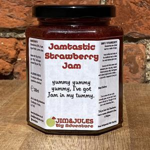 Jim And Jules Jamtastic Strawberry Jam
