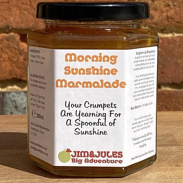 Jim And Jules Morning Sunshine Marmalade